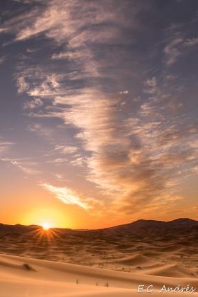 Desierto del Sahara - Merzouga Dunas Erg Chebbi