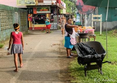 La tarde en el caribe - Costa Rica