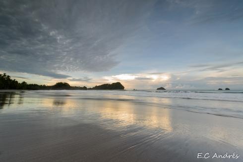 Playa Espadilla - Parque nacional Manuel Antonio